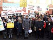 فيديو وصور.. احتجاجات فى إنجلترا ضد تعليم الأطفال المثلية والشذوذ فى المدرسة