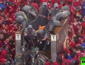 شاهد.. معركة البرتقال في مهرجان بإيطاليا