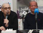 لطفي لبيب: سعيد بتكريمى فى مهرجان شرم الشيخ والمسرح أكثر ما يسعدنى