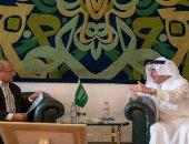 وزير الدولة السعودى للشئون الإفريقية يستقبل سفير مصر وعدد من السفراء