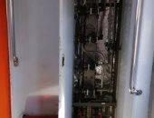 شكوى من غرفة كهرباء مفتوحة بإحدى عربات مترو الأنفاق خط المرج