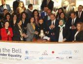 مايا مرسى تطلق جرس جلسة تداول البورصة المصرية وتؤكد: المرأة شريك أساسى