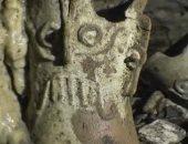 فيديو.. علماء مكسيكيون يعثرون على آثار تعود لحضارة المايا فى كهف أثرى