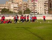 سيد عيد يحفز لاعبيه معنويًا قبل مواجهة منتخب السويس