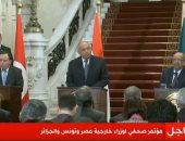 وزير خارجية الجزائر: حل الأزمة الليبية يكمن فى وقف التدخلات الأجنبية