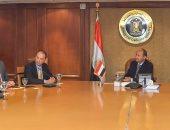 عمرو نصار: الوزارة تحرص على تطوير منظومة النقل اللوجيستى للصادرات المصرية