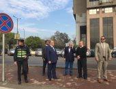 محافظ القاهرة يوجه بسرعة الانتهاء من تطوير محيط المنطقة الحرة بمدينة نصر