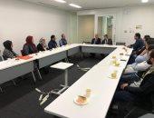 رئيس جامعة كفر الشيخ يلتقى بالباحثين المصريين باليابان
