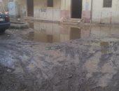 شكوى من تراكم مياه الأمطار بمدينة ههيا محافظة الشرقية