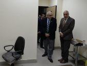 رئيس جامعة المنصورة يتفقد تجهيزات مبنى العلاج الاقتصادى للمشاركة فى انهاء قوائم الانتظار