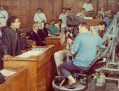 """شاهد كواليس المرافعة الأشهر بتاريخ السينما المصرية فى """"ضد الحكومة"""""""