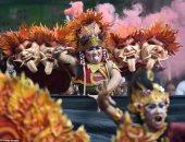 إغلاق الإنترنت.. اعرف ازاى الهندوس بيحتفلوا بيوم الصمت فى إندونيسيا.. صور