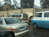 شكوى من موقف للميكروباصات بشارع مصطفى النحاس والتسبب فى زحام مرورى