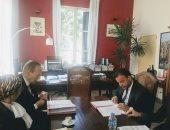 تجديد اتفاقية التعاون بين مركز الدراسات القضائية مع المعهد الفرنسى بمصر
