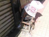 كابل كهرباء مكشوف بوسط البلد والأهالى يطالبون بإصلاحه