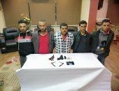 حبس 5 عاطلين 4 أيام لتكوينهم تشكيلا عصابيا لسرقة المواطنين بشبرا الخيمة