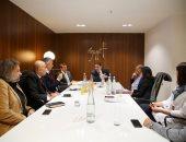 رئيس تنشيط السياحة يعقد لقاءات على هامش مشاركته فى بورصة برلين
