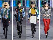 موضة الثمانينيات رجعت تانى.. لويس فيتون يختتم أسبوع الموضة فى باريس بالألوان