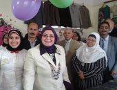 """صور.. """"تعليم كفر الشيخ"""": عظمنا دور المشاركة المجتمعية بمعارض خيرية"""