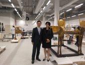شاهد زيارة سفير كوريا الجنوبية بالقاهرة وزوجته للمتحف المصرى الكبير