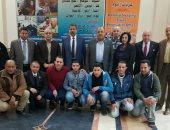 الوطنية لإدارة عربات النوم تكرم 7موظفين لدورهم فى إنقاذ ضحايا حادث محطة مصر
