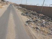 شكوى من انتشار مخلفات البناء بشوارع المنطقة الصناعية السادسة فى 6 أكتوبر