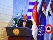 الرئيس السيسى يقدم العزاء للعراق فى حادث غرق عبارة الموصل