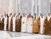 صور.. الشيخ محمد بن زايد يستقبل الأعضاء الجدد للمجلس التنفيذى لإمارة أبوظبى