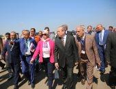 صور.. وزيرة البيئة: خطة وطنية للتكيف مع التغيرات المناخية وحماية المناطق الساحلية