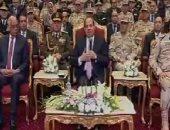 """السيسى للمصريين: """"هل وعدتكم وأخلفت؟.. إحنا كحكومة عاوزين نخفف عن أهلنا"""""""