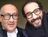 لأول مرة.. أحمد حلمى يكشف عن صورة شقيقه الأكبر