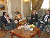 وزير التعليم العالى يلتقى سفيرة البرتغال بالقاهرة لبحث إنشاء فروع لجامعات جديدة