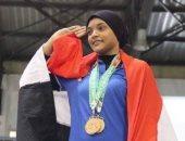 بطلة الأثقال نعمة سعيد تخوض منافسات بطولة العالم بأمريكا منتصف الليل