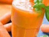 صحتك فى وصفة.. للتخلص من ألم المعدة تناول عصير الجزر بالنعناع
