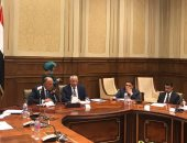 سامح شكرى يلتقى رئيس مجلس النواب ويشارك فى أعمال لجنة العلاقات الخارجية