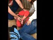 بسبب سيلفى.. فهد يهجم على سيدة بحديقة حيوان أريزونا الأمريكية.. فيديو