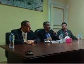 """ضياء رشوان لـ """"صحفيي الاسكندرية """": هدفى لم شمل الجماعة الصحفية"""