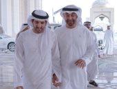 """الأخوة والمحبة تجمعهما.. ولى عهد دبى يحتفى بـ""""محمد بن زايد"""": يوم ميلاد الفخر"""