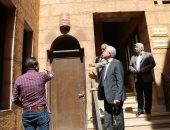 صور .. محافظ جنوب سيناء يتقفد موقع إنشاء مصعد المركز الثقافى بمسجد الصحابة