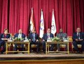 فيديو.. جامعة بنى سويف تحتفل بعيد ميلاد سميحة أيوب أثناء مهرجان المسرح الجامعى