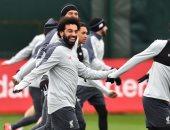 محمد صلاح يعود لتدريبات ليفربول اليوم لمواجهة هدرسفيلد