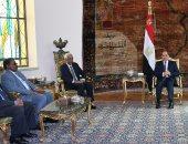 الرئيس السيسى يؤكد دعم مصر الكامل لأمن واستقرار السودان