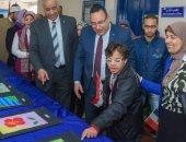 محافظ الإسكندرية يفتتح معرض لوحات الأطفال من ذوى القدرات الخاصة