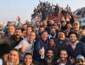 """شاهد.. صناع """"كلبش3"""" يعلنون انتهاء تصوير مشاهد """"الهجرة """" فى الإسكندرية"""