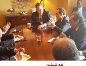 تفاصيل مباحثات وزير البترول مع 4 رؤساء شركات عالمية ووزير الطاقة الأمريكى