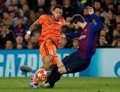 برشلونة ضد أولمبيك ليون.. بيكيه يسجل الرابع في الدقيقة 81