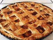 طريقة عمل فطيرة التفاح فى المنزل