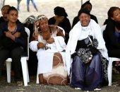 عائلات الضحايا يزورون موقع سقوط الطائرة المنكوبة
