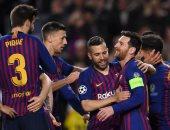 ميسي يسجل هدف برشلونة الأول في الدقيقة 16 بمهارة استثنائية.. فيديو