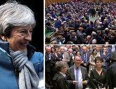 """البرلمان البريطانى يرفض  استفتاء ثان على """"بريكست"""" ويقرر تأجيل الخروج لما بعد 29 مارس.. أعضاء مجلس العموم أعطوا الأولوية لموعد """"الطلاق"""" من أوروبا على حساب الاتفاق معها.. ومسئول أوروبى: الاتفاق الحالى هو المتاح"""
